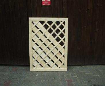 Dřevěné plotové sloupky